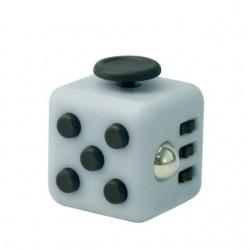 hand spinner cube blanc
