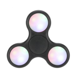 hand spinner LED noir