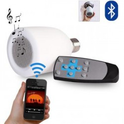 ampoule LED bluetooth blanc