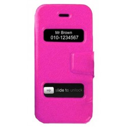 coques double slide up fuchsia