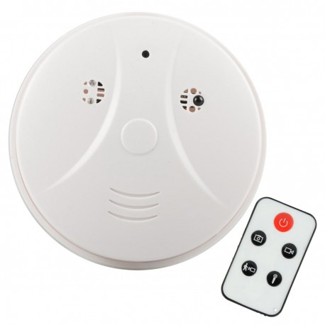 faux détecteur de fumée camera