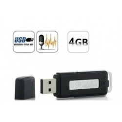 CLE USB ENREGISTREUR VOCAL 4 GO