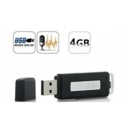 CLE USB ENREGISTREUR VOCAL 4 GO