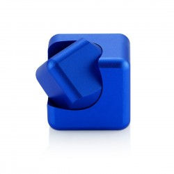 Hand Spinner  Magic Cube bleu